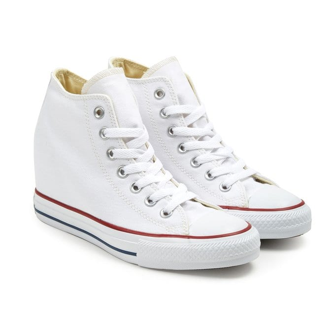 Converse : Chuck Taylor lux mid White | o-zone shop