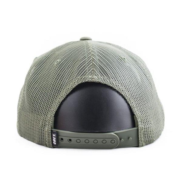 c7baa277fa0 Obey   Chains trucker hat – Dark olive. A. C